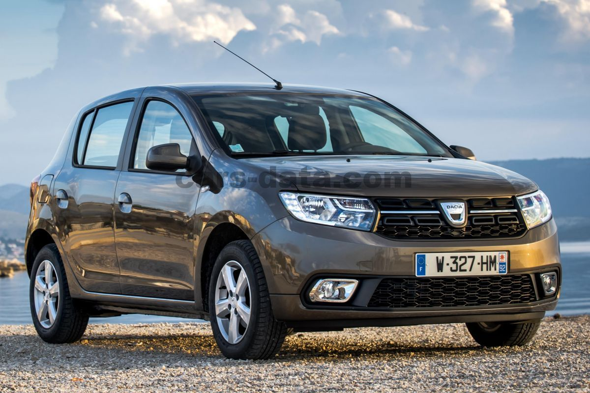 dacia sandero tce 90 ambiance manual 2016 2018 90 hp 5 doors technical specifications. Black Bedroom Furniture Sets. Home Design Ideas