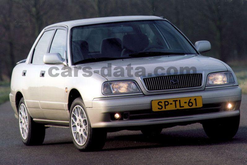 Luxury Car Brands >> Daihatsu Applause 1.6i manual 5 door specs | cars-data.com