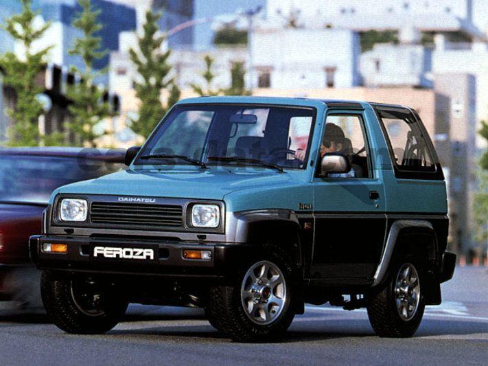 Daihatsu Feroza Resin-Top EL-II, Manual, 1991