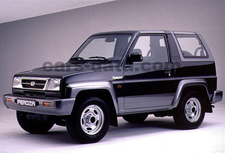 Daihatsu Feroza Resin-Top SE, Manual, 1994