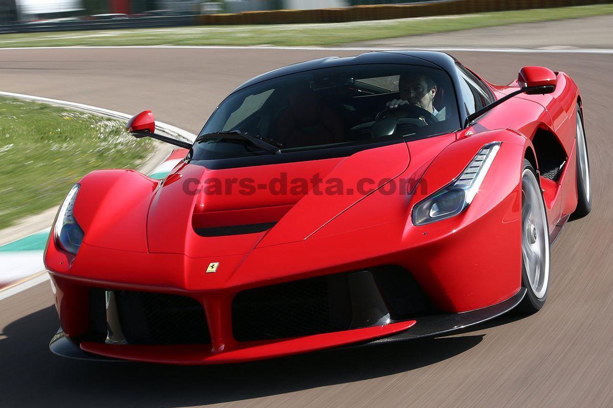 Ferrari LaFerrari Aut. Met Dubb. Koppeling 2 Door Specs