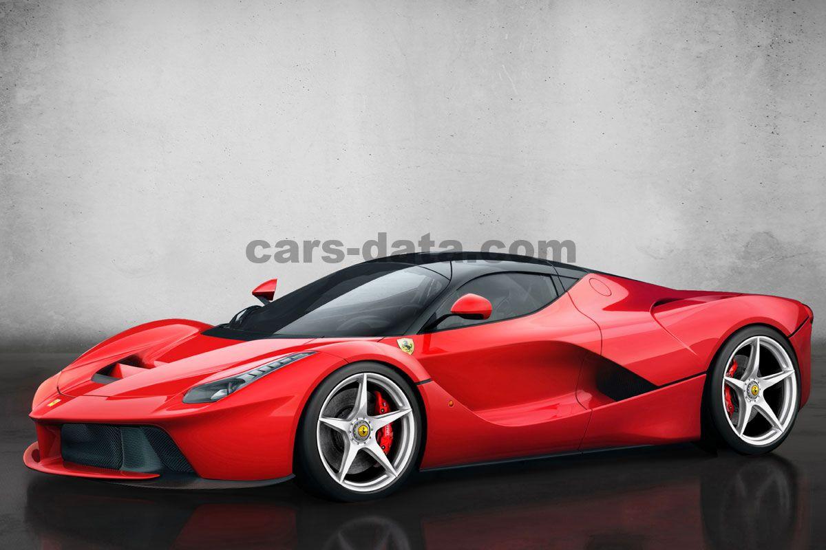Ferrari LaFerrari 2013 pictures (1 of 10)   cars-data.com