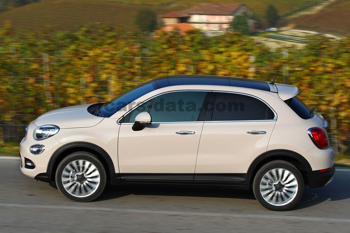 Fiat 500x 2015 Pictures Fiat 500x 2015 Images 29 Of 58