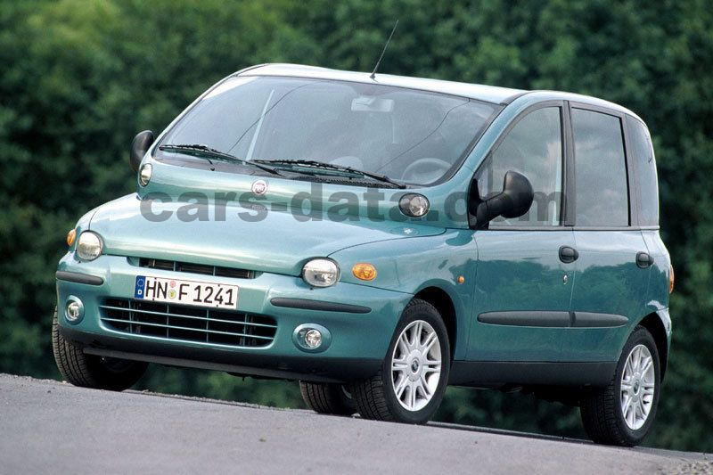 Fiat Multipla 2002 Pictures Fiat Multipla 2002 Images 1