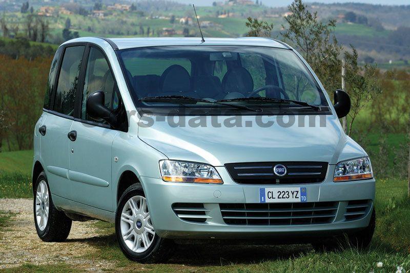 Fiat Multipla 2004 Pictures  1 Of 11