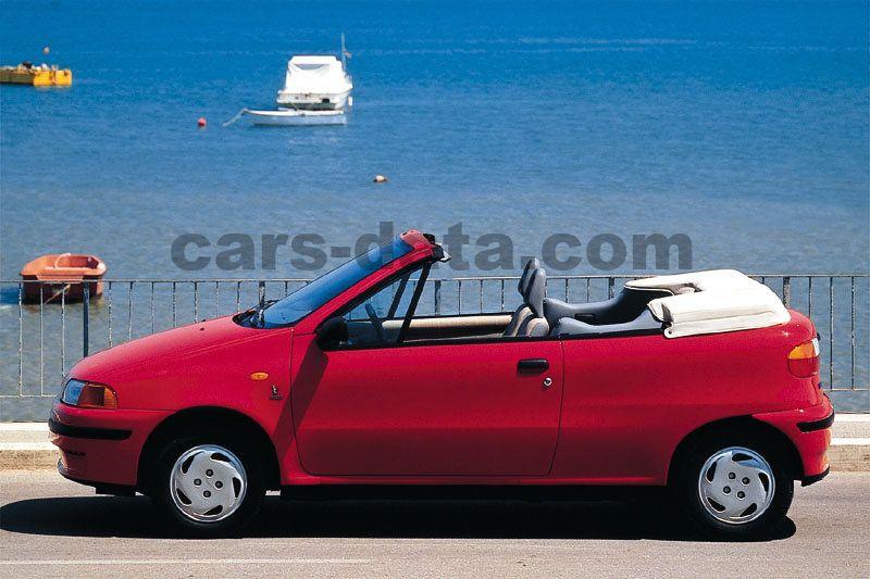 fiat punto cabrio 1994 pictures fiat punto cabrio 1994 images 3 of 8. Black Bedroom Furniture Sets. Home Design Ideas