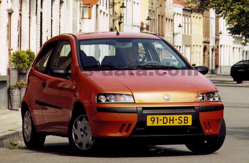 2 Door Suv >> Fiat Punto 1.2 16v Sporting manual 3 door specs | cars ...