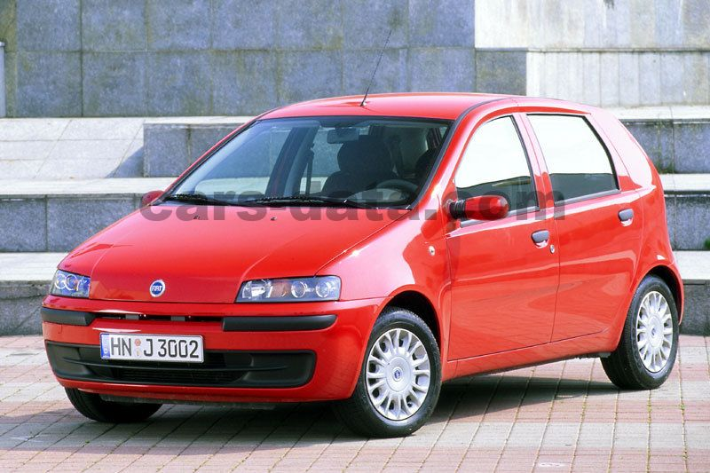 Japanese Car Brands >> Fiat Punto 1.2 16v HLX manual 5 door specs | cars-data.com