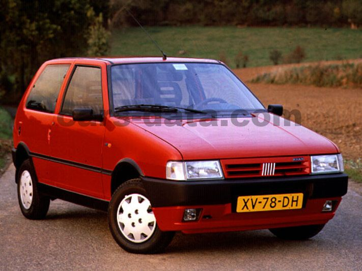 Fiat Uno 1 1 I E Manual 1991 1994 50 Hp 3 Doors Technical Specifications