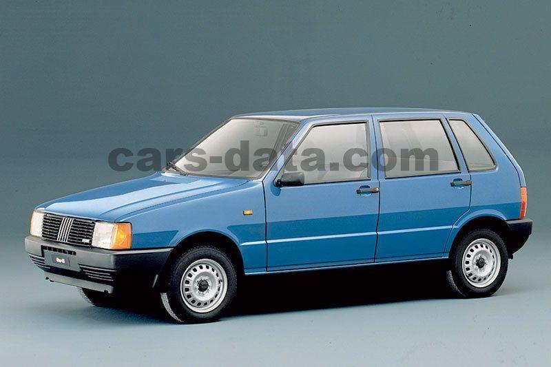 Fiat Uno 75 I E  Sx Manual 5 Door Specs