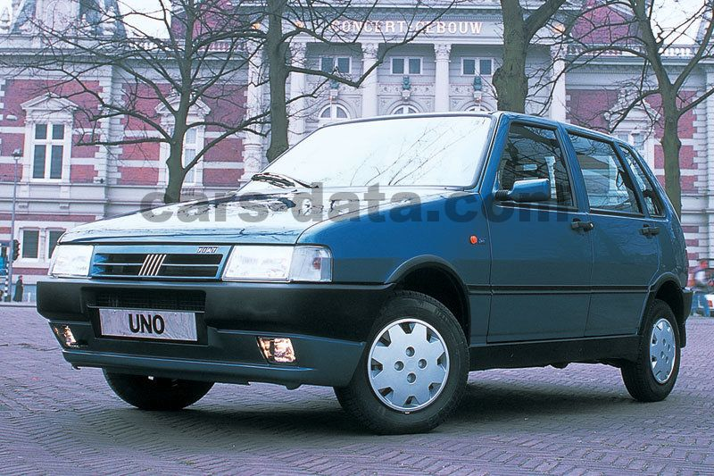Japanese Car Brands >> Fiat Uno 1.0 I.e. S manual 5 door specs | cars-data.com