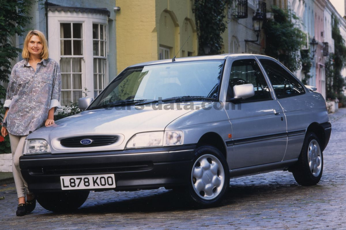 Toyota Company Latest Models >> Ford Escort RS Cosworth, Manual, 1992 - 1996, 227 Hp, 3 doors Technical Specifications
