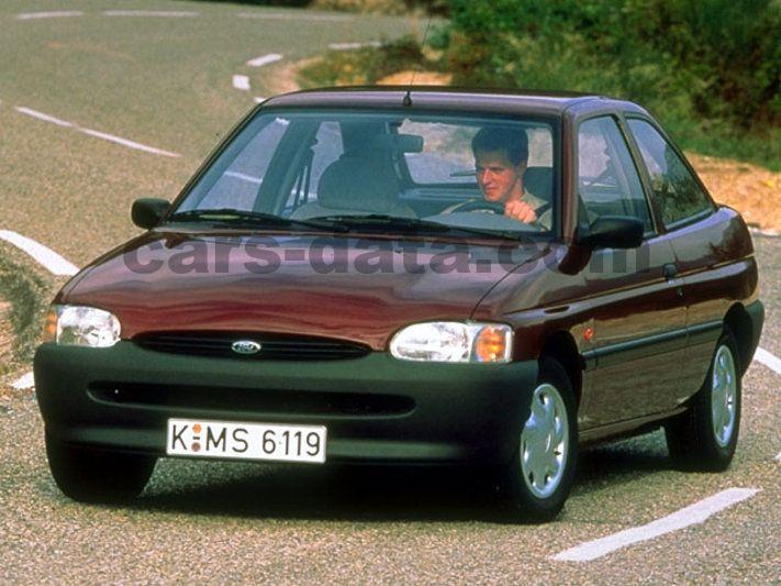 Ford Escort Fotos