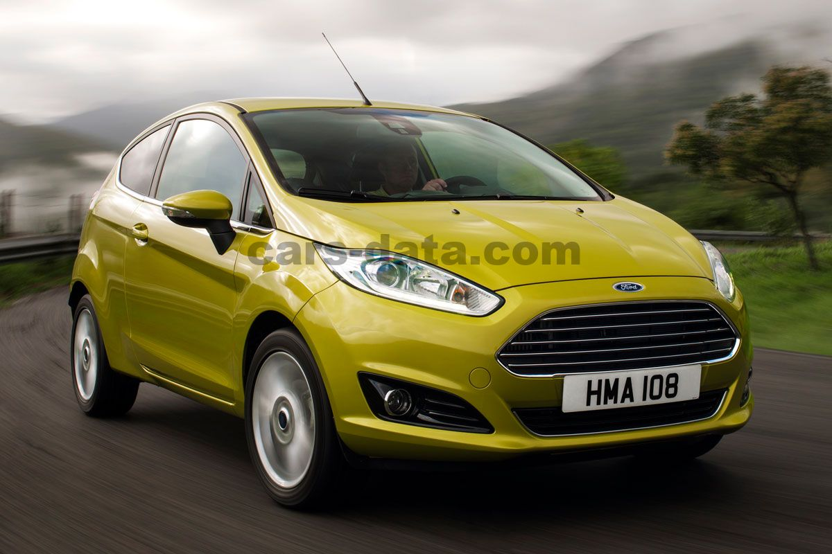 Ford Fiesta 16 Tdci Titanium Manual 3 Door Specs 2012 Fuel Filter