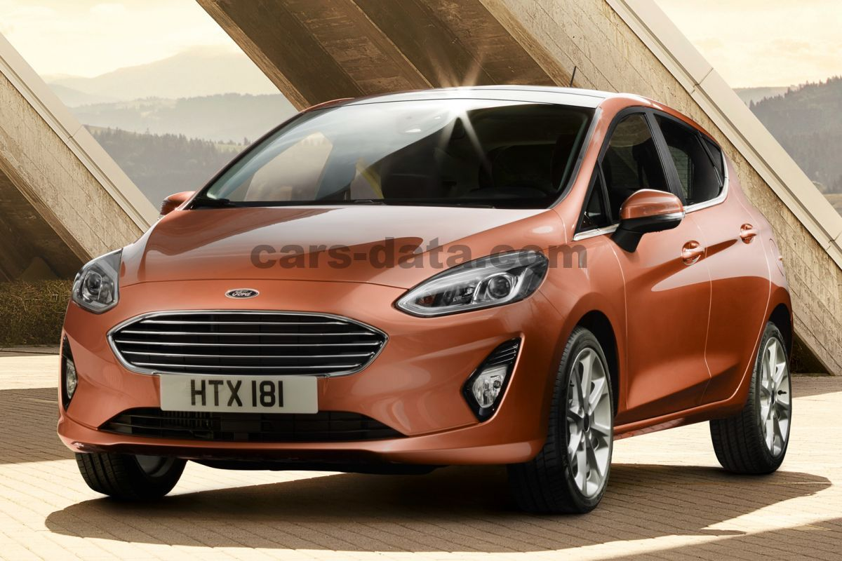 ford fiesta 1 0 ecoboost 100hp titanium manual 2017 2018 100 hp 5 doors technical. Black Bedroom Furniture Sets. Home Design Ideas