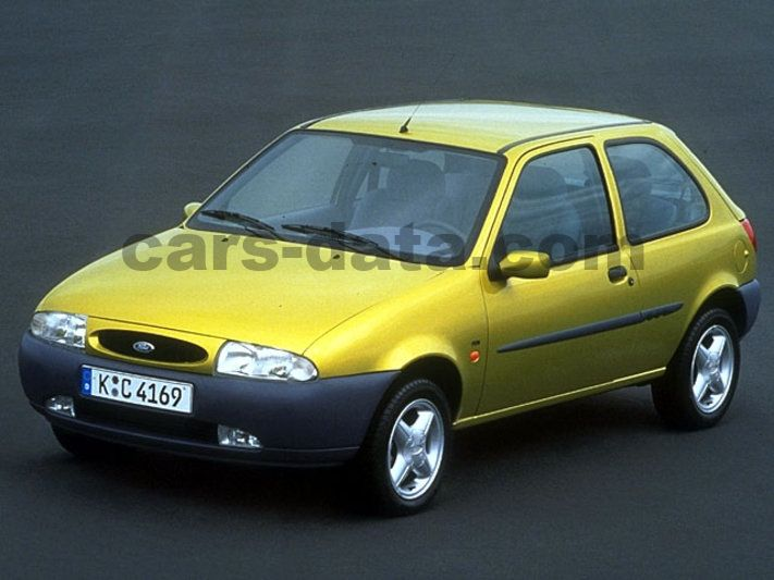 ford fiesta 16v 1997 1998 75 hp 3 doors technical specifications. Black Bedroom Furniture Sets. Home Design Ideas
