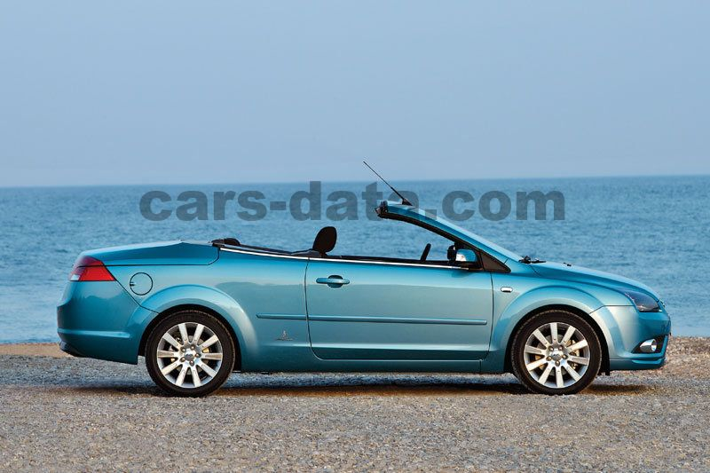 ford focus coupe-cabriolet 2007 pictures, ford focus coupe-cabriolet