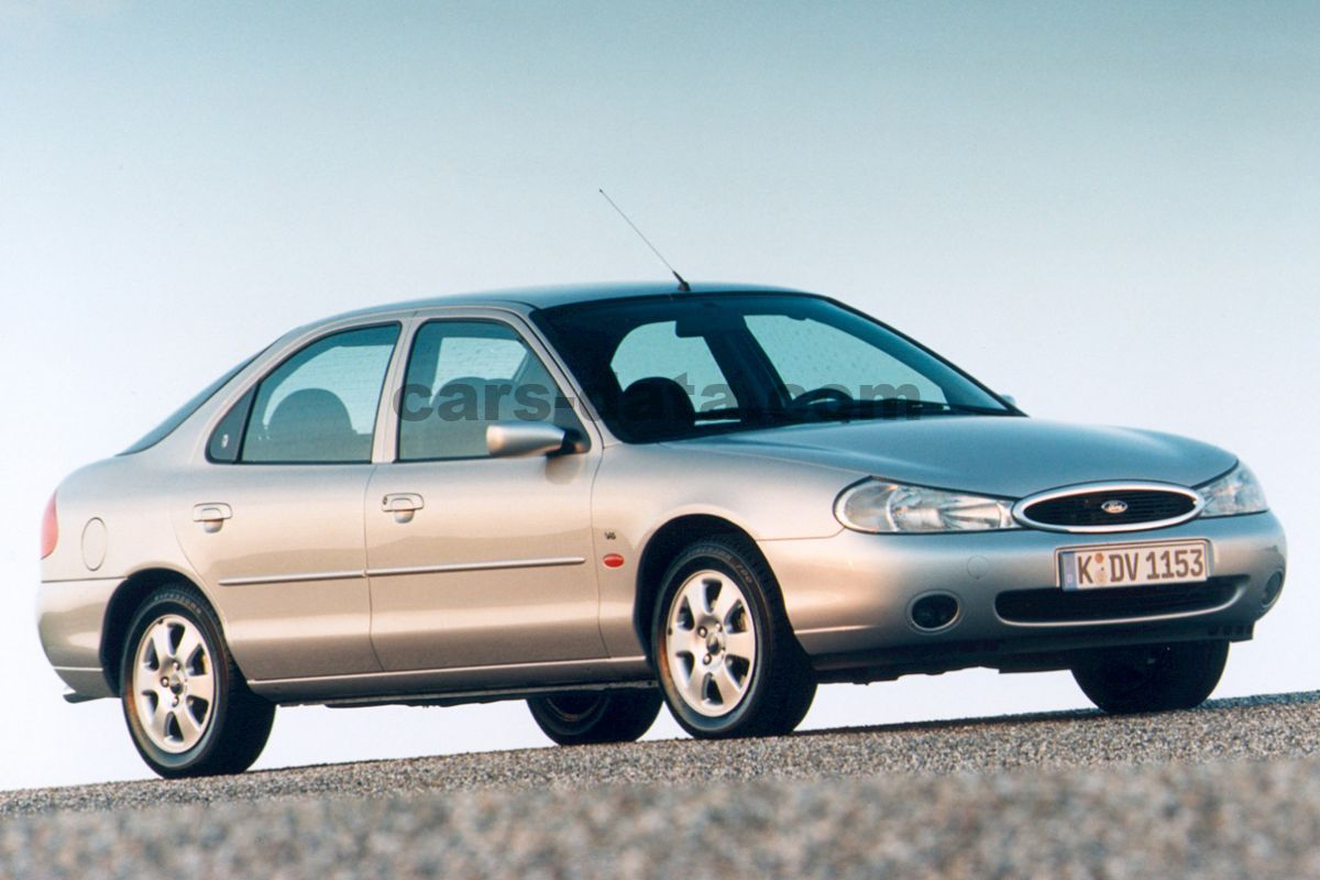 Toyota Company Latest Models >> Ford Mondeo 2.5i V6 ST200, Manual, 1999 - 2000, 205 Hp, 5 doors Technical Specifications