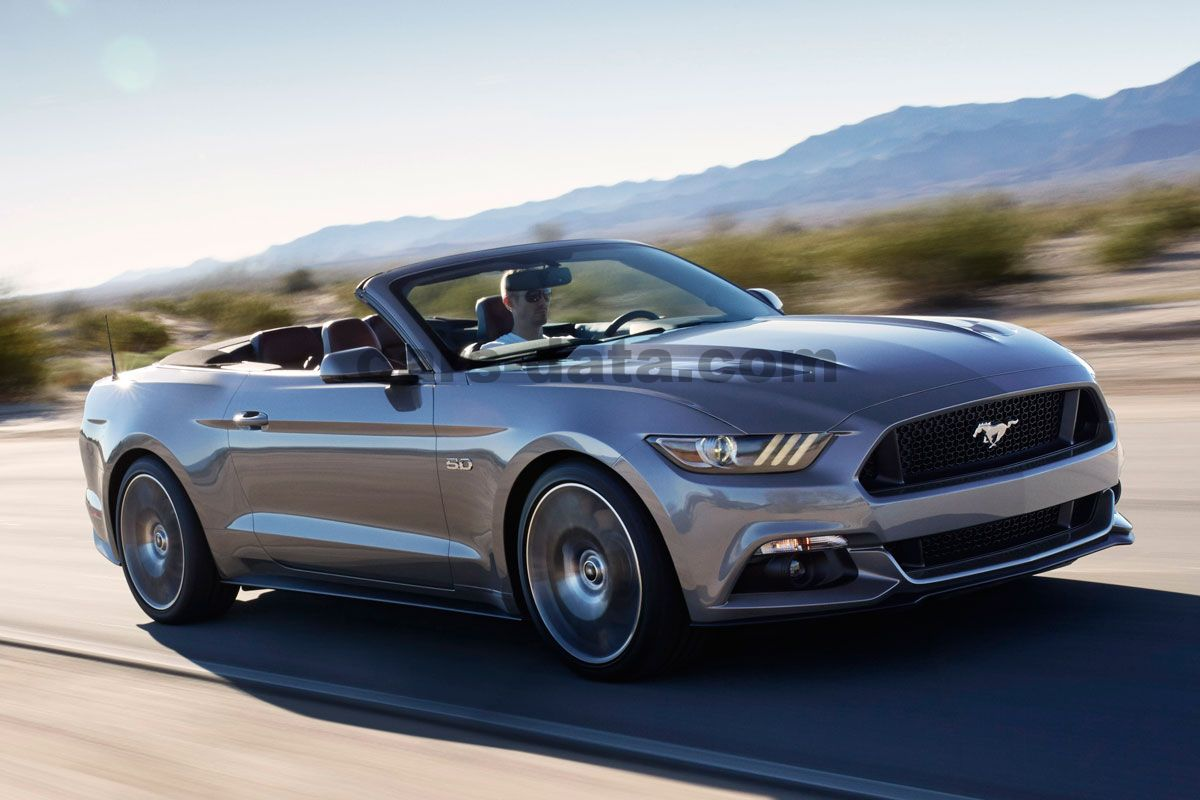 Ford Mustang Convertible 14 pictures (14 of 14) | cars-data.com | ford mustang convertible