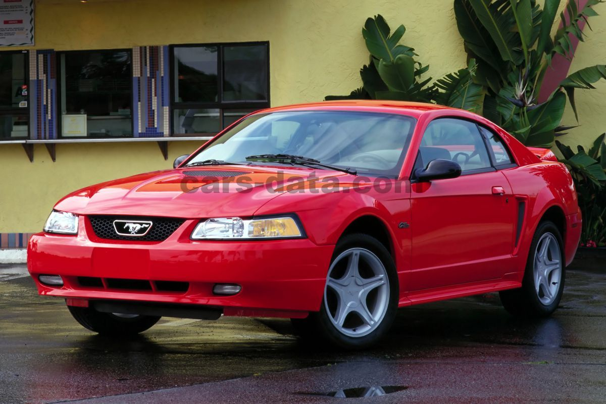 Volvo Suv Models >> Ford Mustang V6, Automatic, 1998 - 2003, 193 Hp, 2 doors Technical Specifications