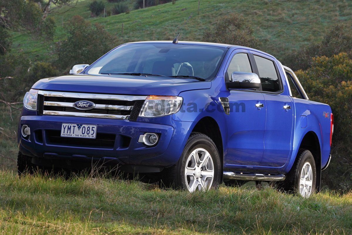 ford ranger double cab 2012 pictures ford ranger double cab 2012 images 4 of 32. Black Bedroom Furniture Sets. Home Design Ideas