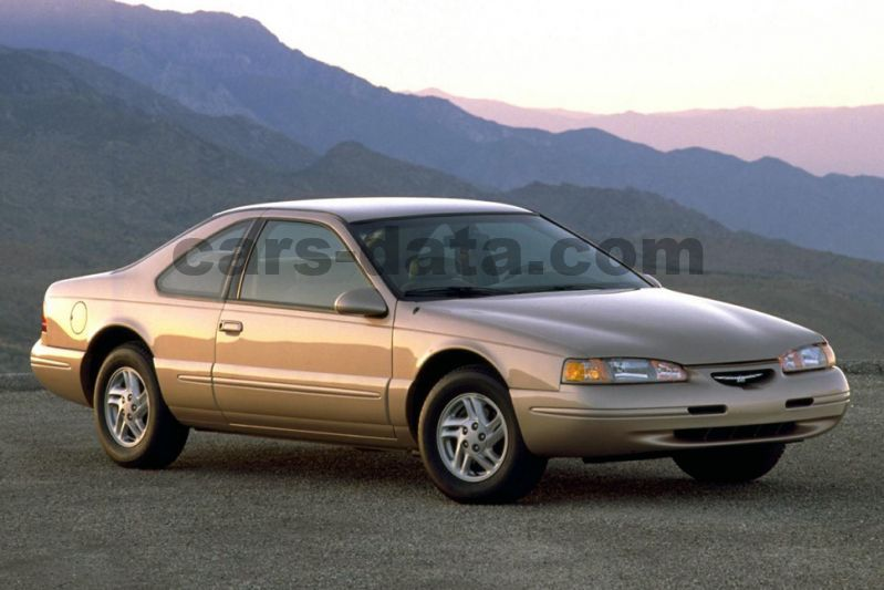 Ford Thunderbird V8 LX, Automatic, 1994 - 1998, 205 Hp, 2 doors Technical Specifications