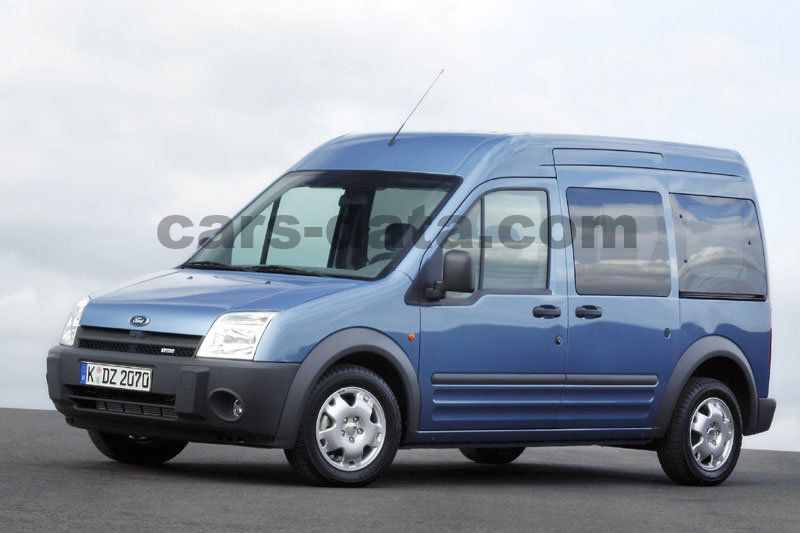 Ford Tourneo Connect 1 8 Tdci Lwb Manual 5 Door Specs