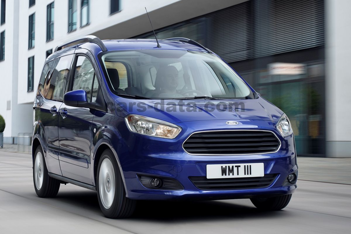 Ford Tourneo Courier 1 0 Ecoboost Titanium Manual 5 Door