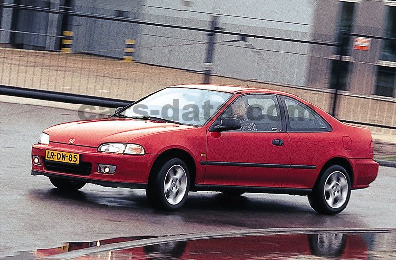 Honda Civic Coupe 1994 Pictures 1 Of 3 Cars Data Com