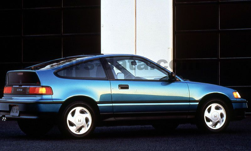 Honda Civic CRX Coupe Fotos