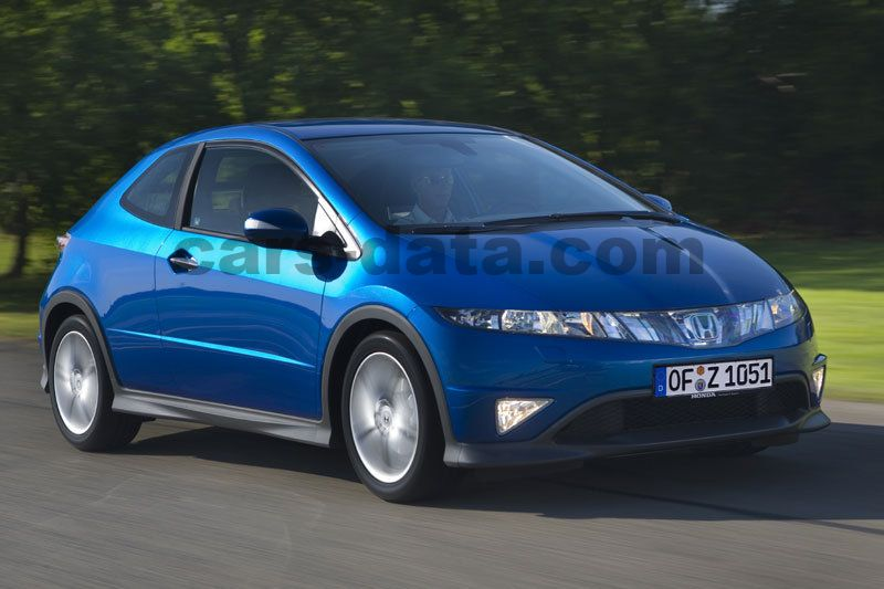 Honda Civic Type S 2007 pictures (4 of 7) | cars-data.com