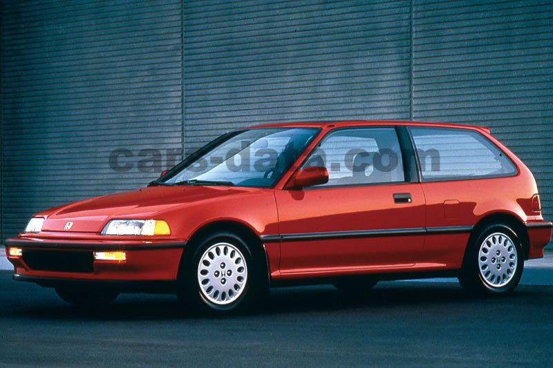 Honda Civic 1987 Pictures 2 Of 4 Cars Data