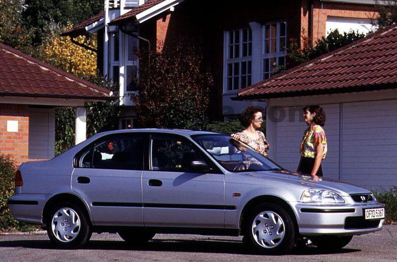 Honda Civic 1 6 Vti Manual 1996 1998 160 Hp 4 Doors Technical Specifications
