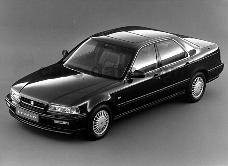 Honda Legend 1991 pictures (3 of 4) | cars-data.com