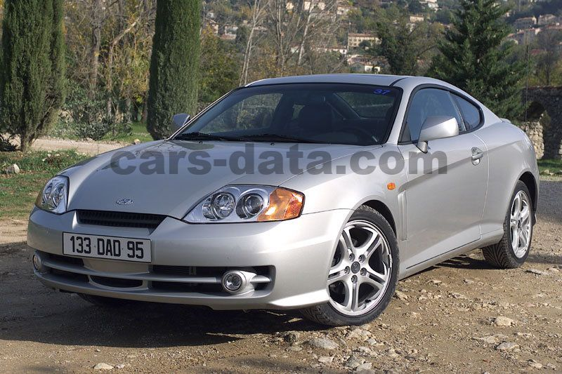 Chinese Car Brands >> Hyundai Coupe 2.7i V6 FX, Manual, 2001 - 2004, 167 Hp, 3 doors Technical Specifications
