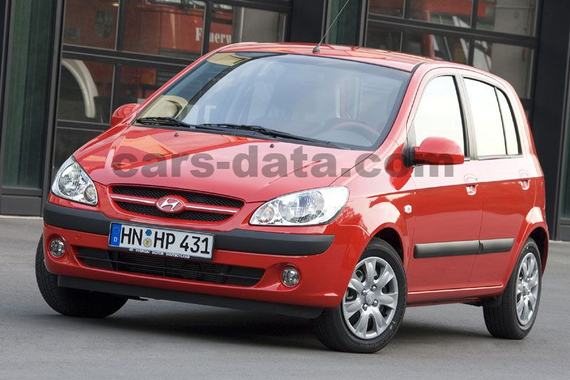 hyundai getz 1 5 crdi vgt dynamicversion manual 2005 2008 88 hp 5 doors technical. Black Bedroom Furniture Sets. Home Design Ideas