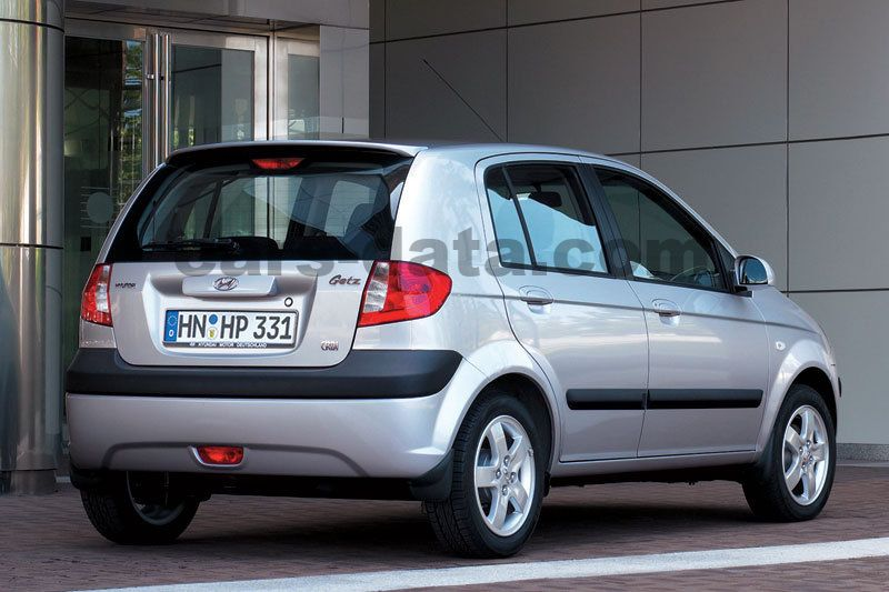 Hyundai Getz 2005 Pictures 13 Of 15 Cars Data