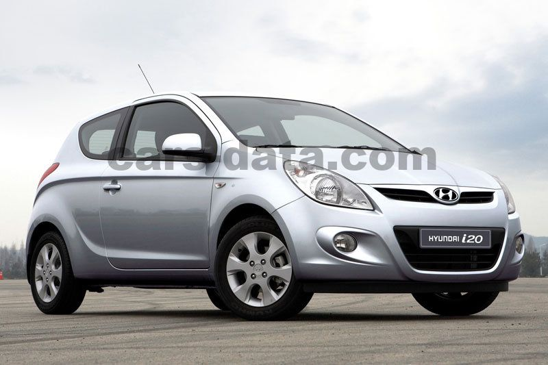 hyundai i20 i motion manual 2010 2012 78 hp 3 doors technical specifications. Black Bedroom Furniture Sets. Home Design Ideas