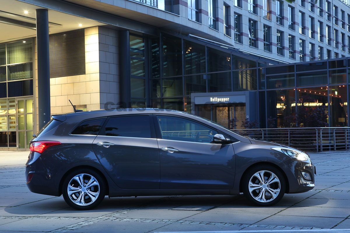 2013 Hyundai i30 wagon information