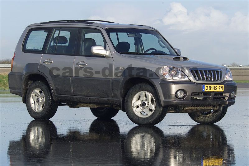 hyundai terracan 2 9 crdi luxe manual 2001 2004 150 hp 5 doors technical specifications. Black Bedroom Furniture Sets. Home Design Ideas