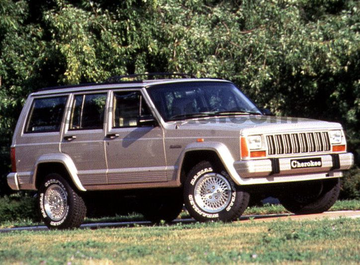 jeep cherokee 2 1 td manual 1992 1993 87 hp 5 doors technical specifications. Black Bedroom Furniture Sets. Home Design Ideas