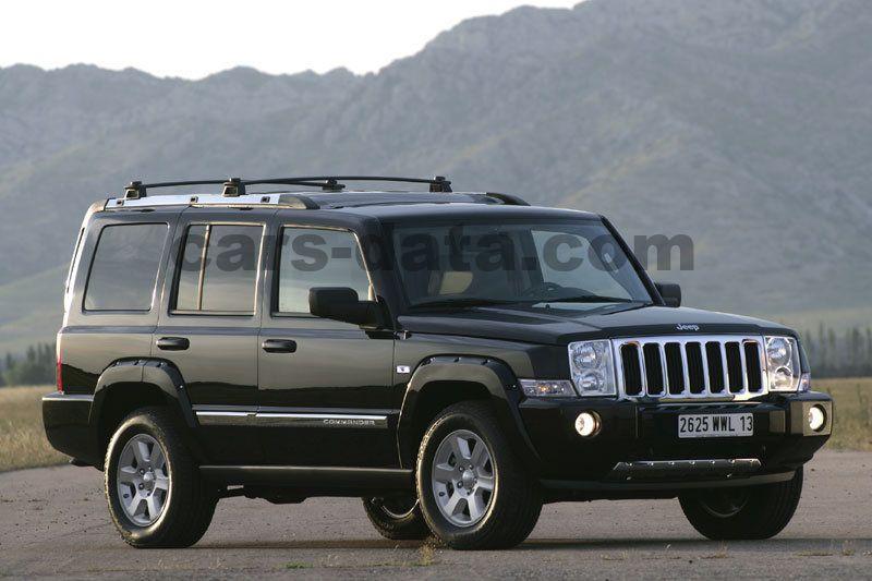 jeep commander hemi v8 limited automatic 2006. Black Bedroom Furniture Sets. Home Design Ideas