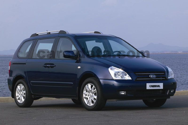 Chevrolet Latest Models >> Kia Carnival 2.9 CRDi VGT EX, Manual, 2006 - 2007, 185 Hp, 5 doors Technical Specifications