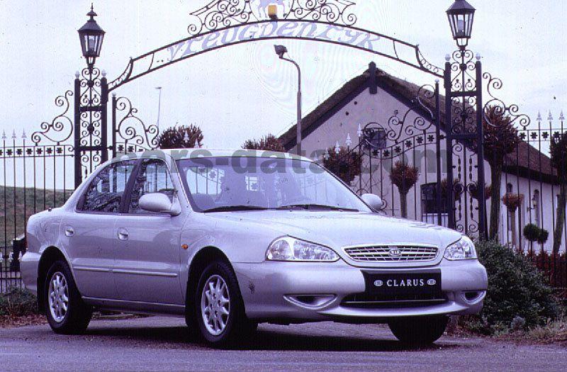 kia clarus 2 0 glx manual 4 door specs cars data com rh cars data com Kia Sportage Wiring Diagrams Kia Spectra Radio Wiring Diagram