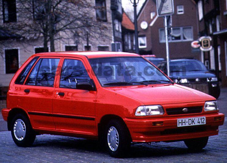 Mitsubishi Motors Latest Models >> Kia Pride 1995 pictures, Kia Pride 1995 images, (1 of 3)