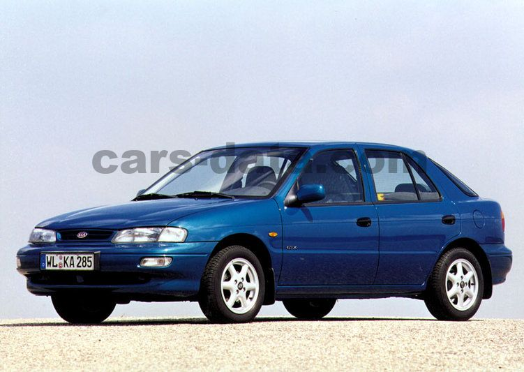 kia sephia  gtx manual    hp  doors technical specifications