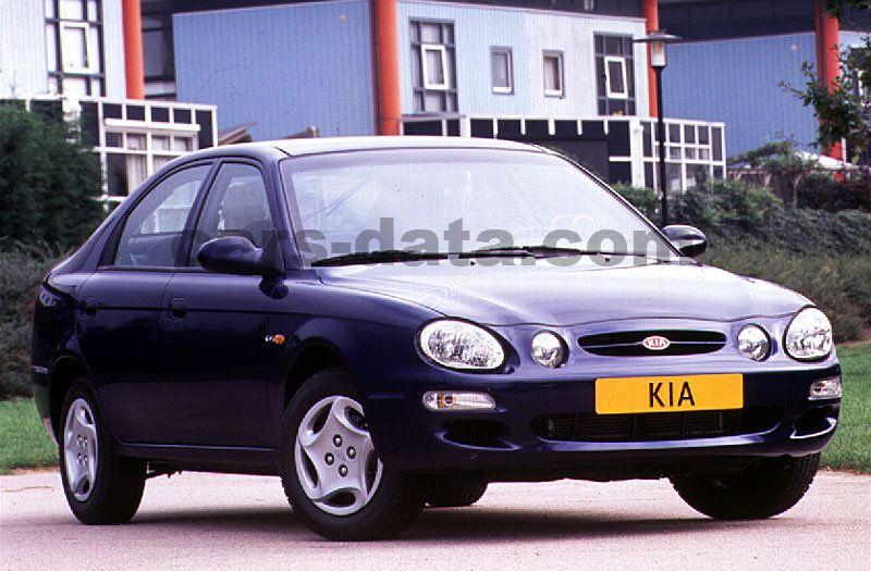 Toyota Company Latest Models >> Kia Shuma 1.5 LS, Manual, 1998 - 2001, 88 Hp, 5 doors ...