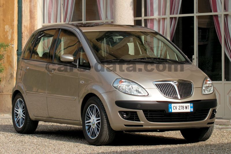 lancia musa 1 9 multijet platino manual 2006 2008 100 hp 5 doors technical specifications. Black Bedroom Furniture Sets. Home Design Ideas