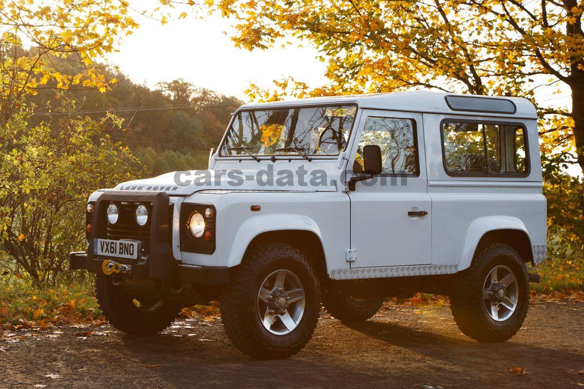 100 Land Rover Defender 4 Door Interior Ecd