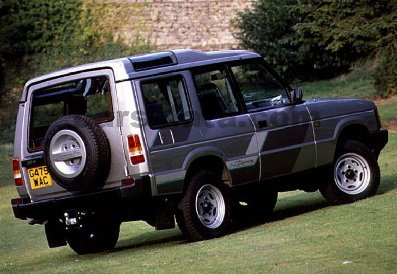 Land Rover Discovery 1990 pictures, Land Rover Discovery 1990 images